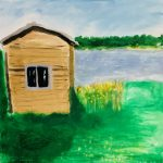 Bild: Huset vid sjön